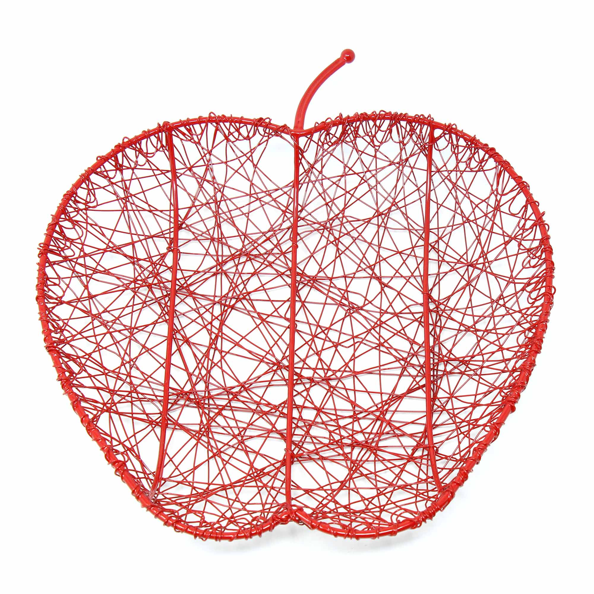 Red Wire Apple Fruit Bowl