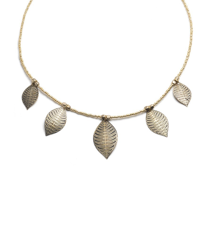 Sanctuary Necklace - Gold tone