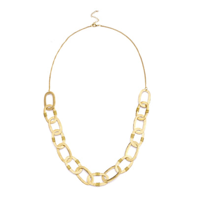 Kaia Necklace - Gold Links
