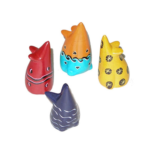 Soapstone Mice - Small 1.5 - 2 inches Assorted Colors