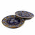 Encantada Handmade Pottery 11.75 Set of 2 Dinner Plates, Blue