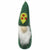 Hand Crafted Felt from Nepal: Ornament, Gnome, Green