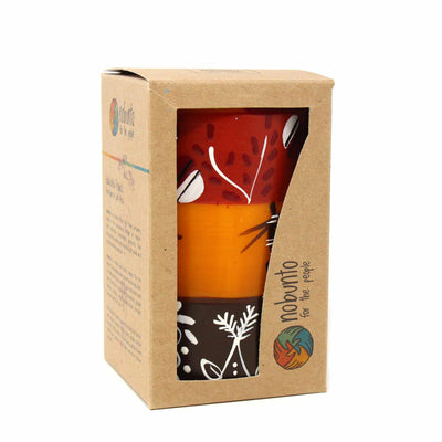 Hand-Painted Pillar Candle in Gift Box, 4-inch (Damisi Design)