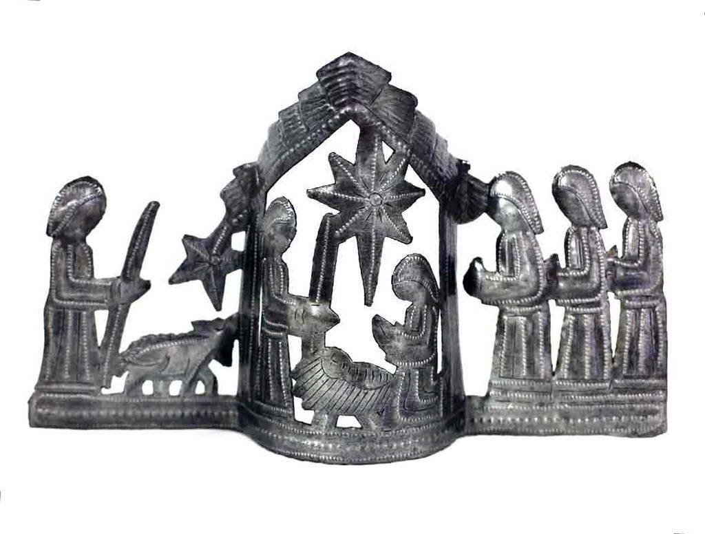 "Large Tabletop Nativity Scene (13"" x 7"")"