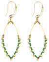 Earrings: Jane Kelly Green