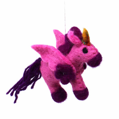 Unicorns Felt Nursery Mobile