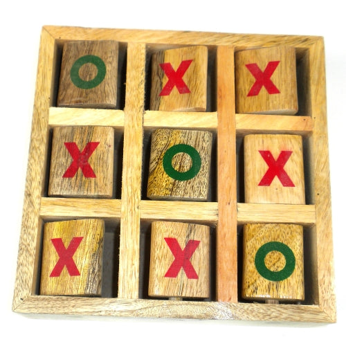 Tic-Tac-Toe Wood Game