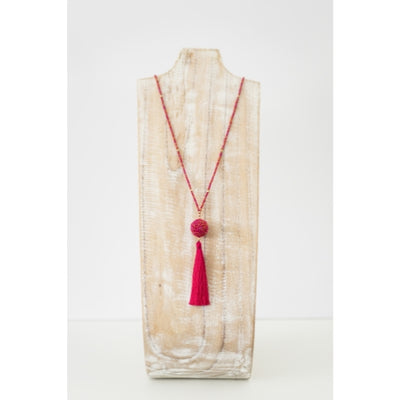 The Wanderer Tassel Necklace, Carousel