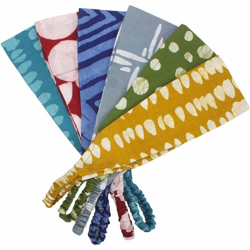 Women's Batiked Headband, Assorted