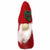 Hand Crafted Felt from Nepal: Ornament, Gnome, Red