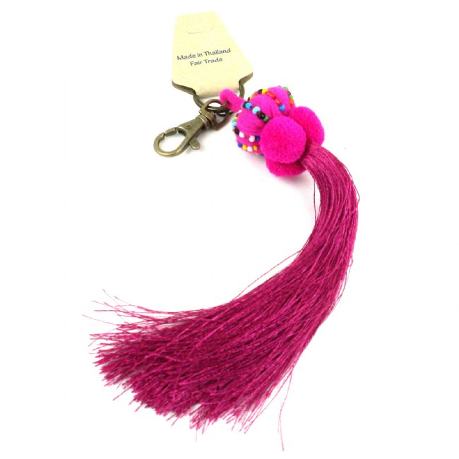 Boho Keychain Collection Lisu, Pink