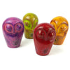 Soapstone Owl Sculpture 4.5 inch - CLOSEOUT!  Assorted Our Choice Colors