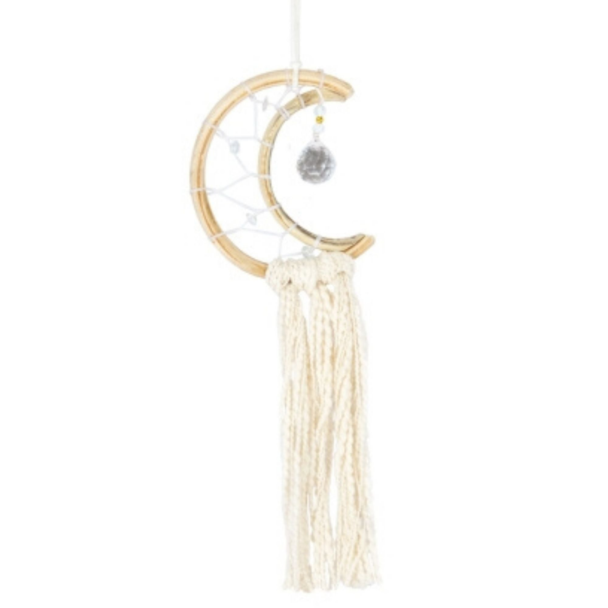 Macrame Dreamcatcher - Little Moon