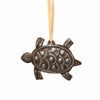 Turtle Nautical Haitian Metal Drum Christmas Ornament