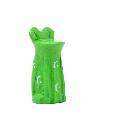 Soapstone Green Frog - Small 1.5 - 2 inches