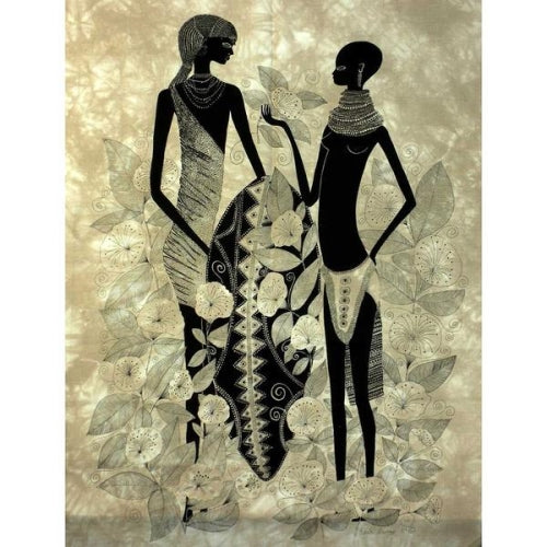 "Heidi Lange ""Turkana Couple"" Screen Print"