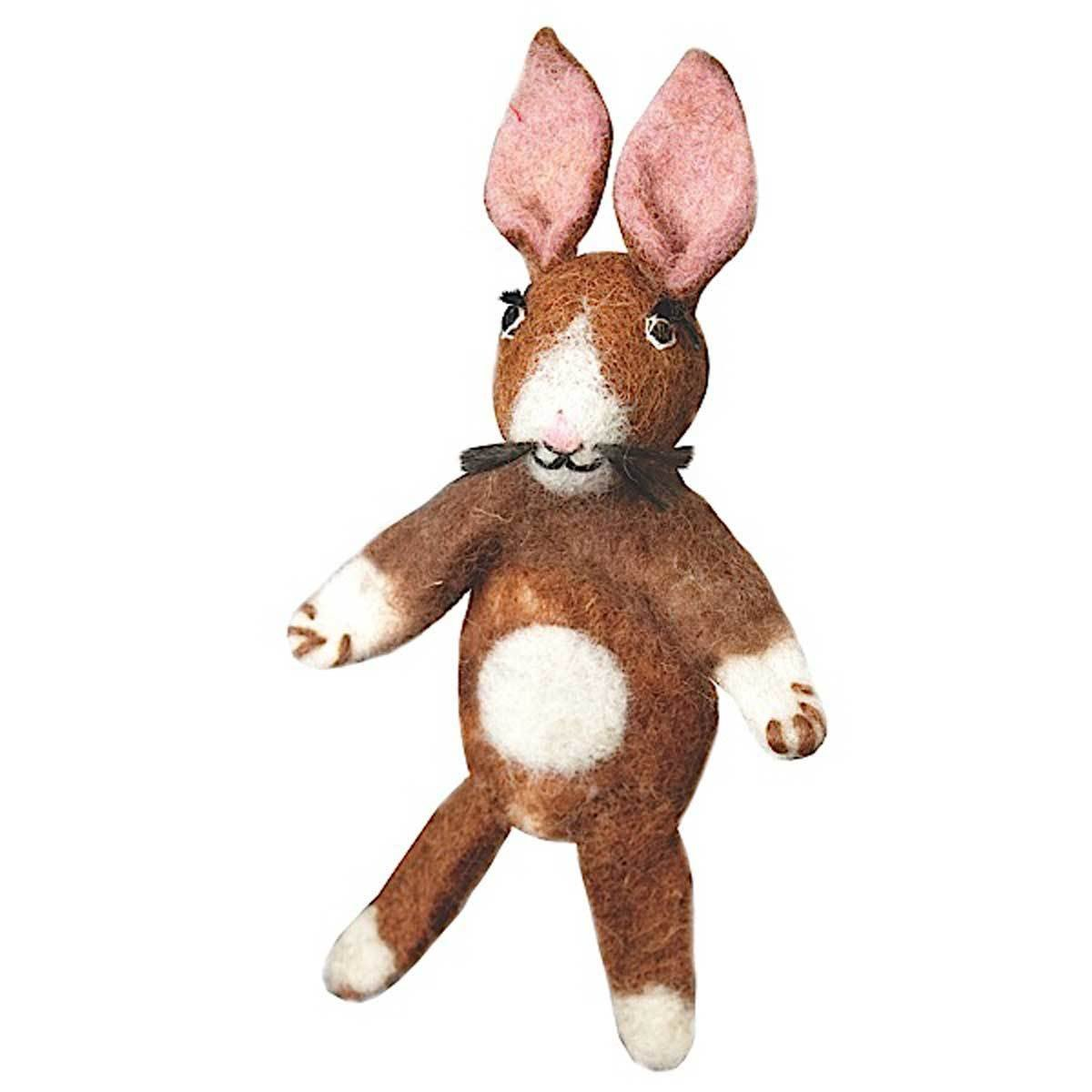 Woolie Finger Puppet - Rabbit