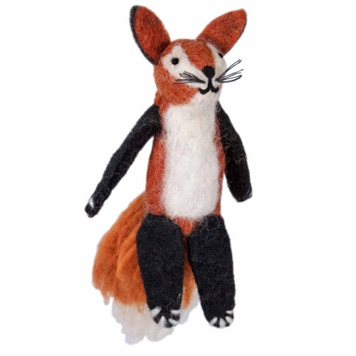 Woolie Finger Puppet - Freddy Fox