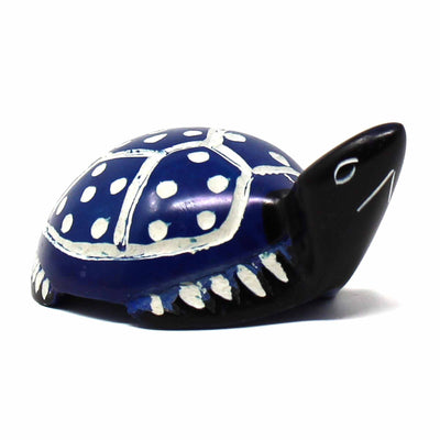 Soapstone Mini Turtles, 3.5-inch