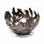 Bird Bowl Haitian Metal Drum Tabletop Décor, 6""