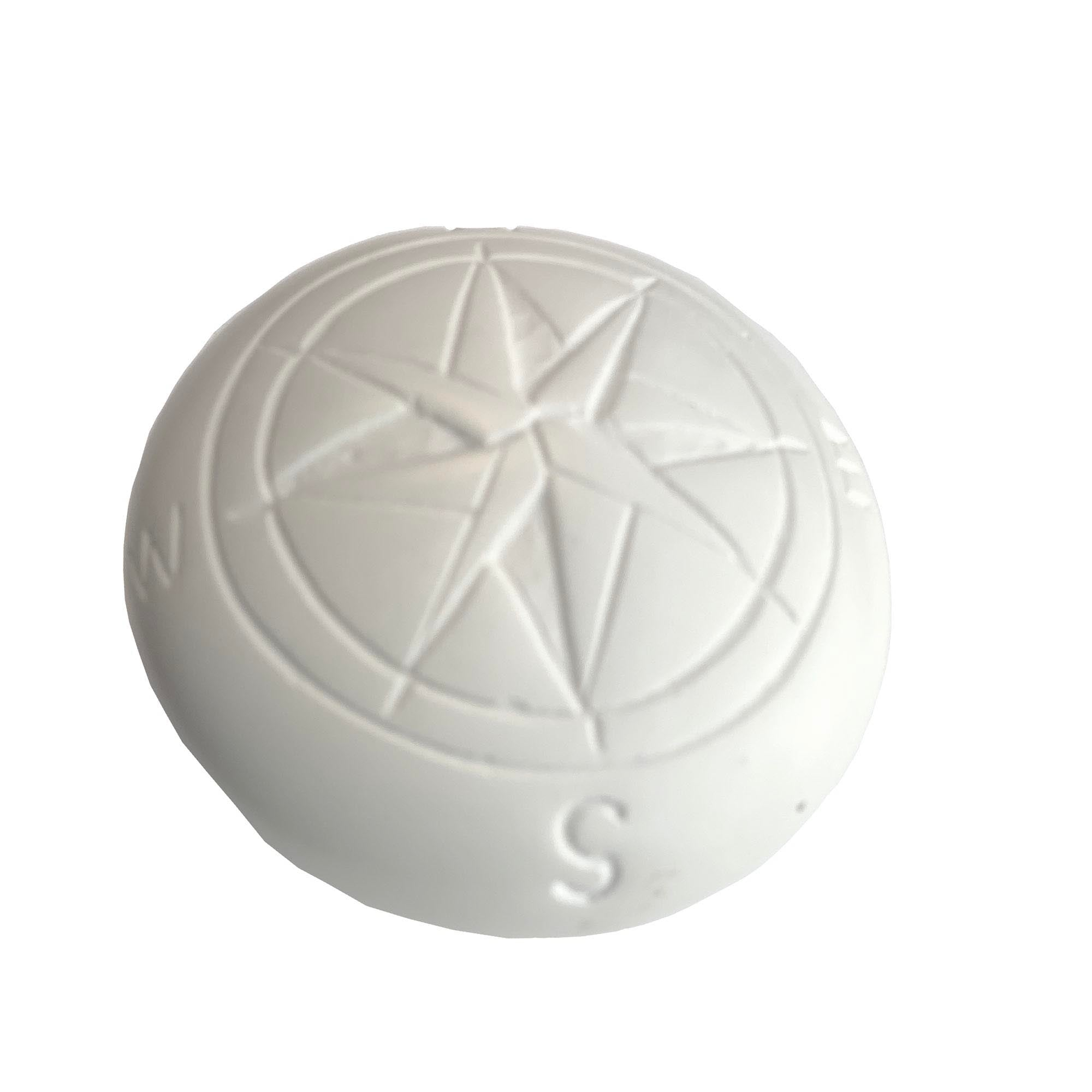 Compass Soapstone Sculpture, Natural Stone