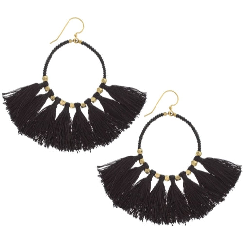 The Dreamer Earring, Black
