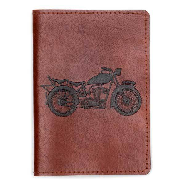 Open Road Leather Passport Cover