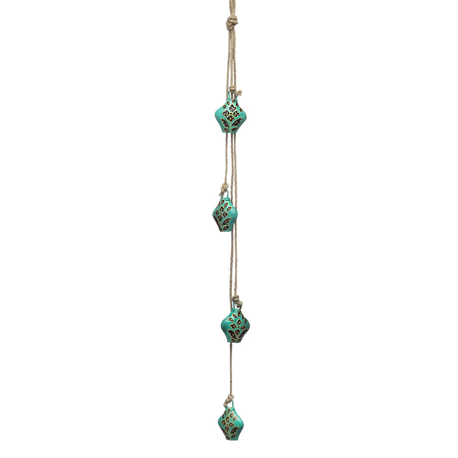Henna Treasure Bell Cascade - Teal