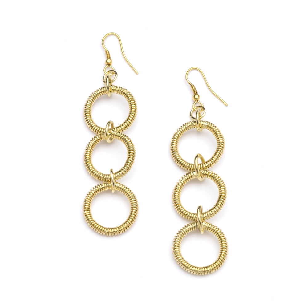 Kaia Earrings - Gold Rings