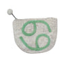 Hand Crafted Felt Pouch Zodiac, Cancer
