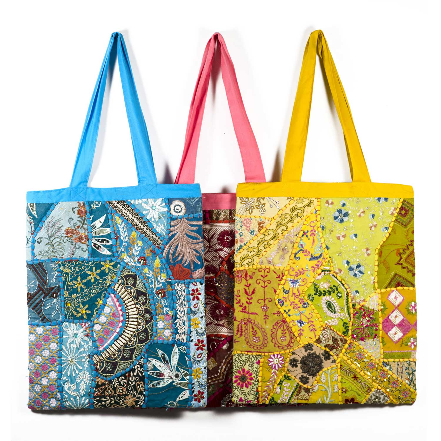 Color Splash Tote- Assorted - Sold Individually
