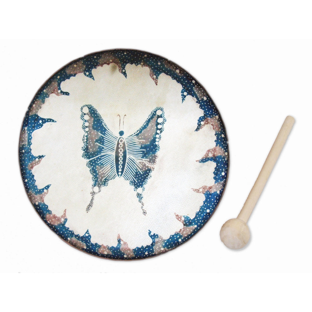 Frame Drum Butterfly- J055
