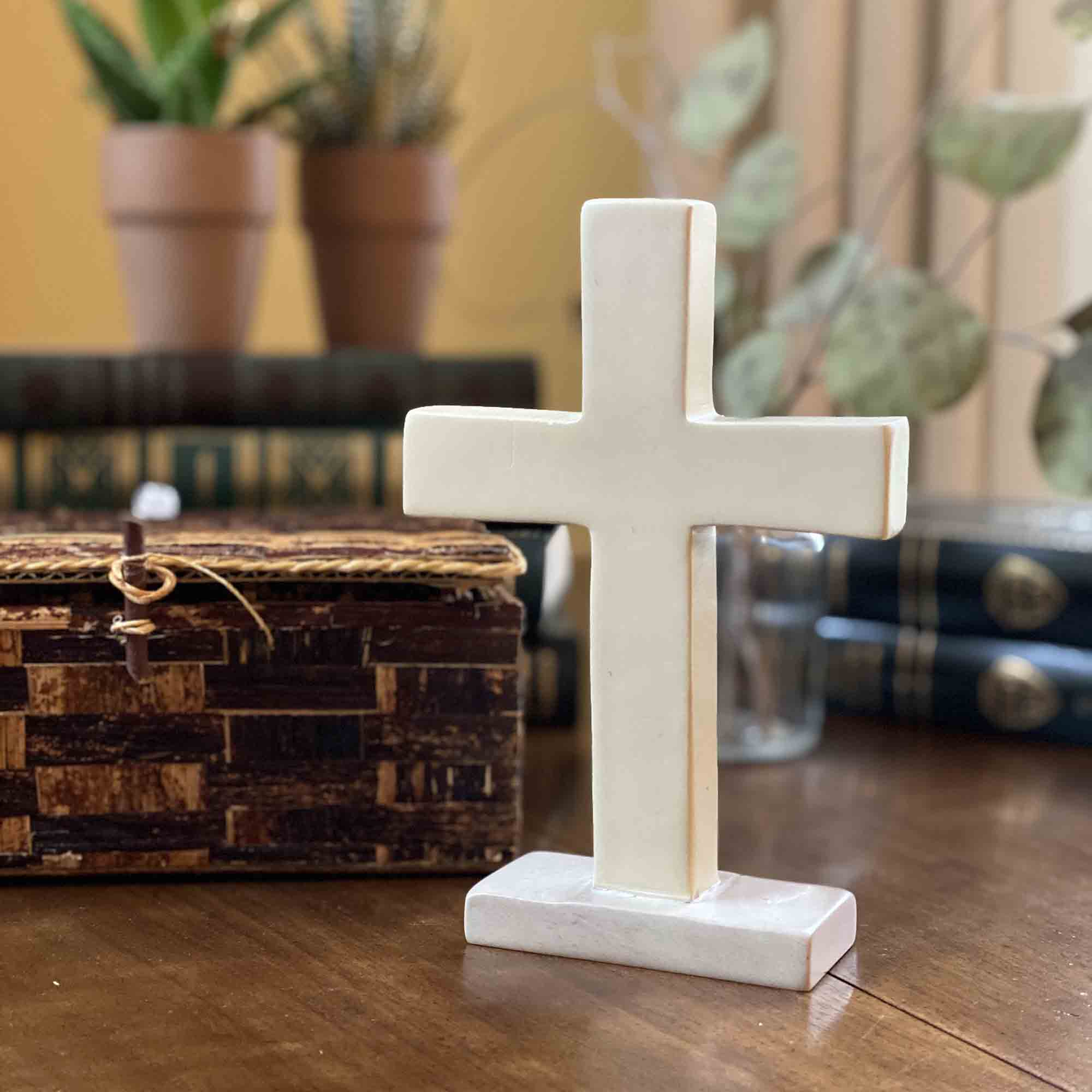 Soapstone Traditional Standing Cross