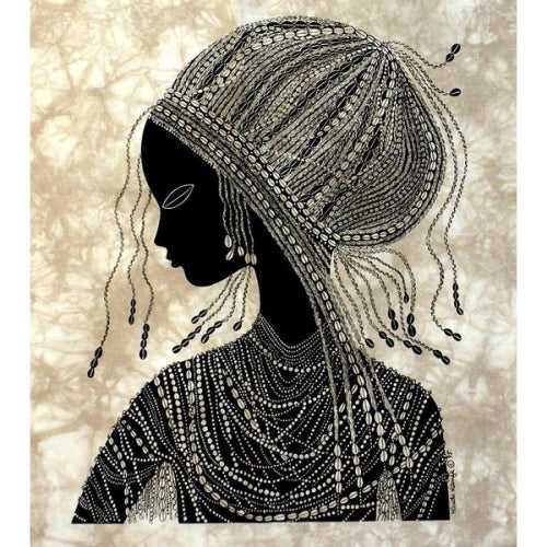 "Heidi Lange ""Girl from Nanyuki"" Screen Print"
