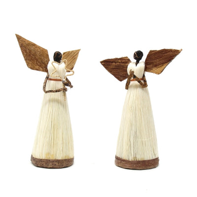 Standing Sisal Angels Set of 2 - Devotional (5-Inch)