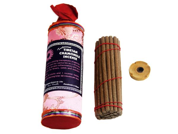 Hand Crafted Incense from Nepal 15 Stick Pack, Chamomile