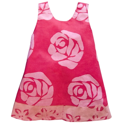 Baby Reversible Dress - Starflower - Pink 18M