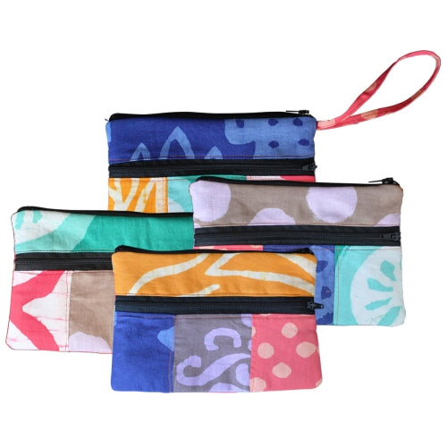 Zip Wristlet Purse Assorted