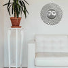 Radiant Sun Metal Wall Art