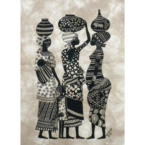"Heidi Lange ""Market Women"" Screen Print"