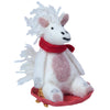 Felt Ornament - Sledding Unicorn