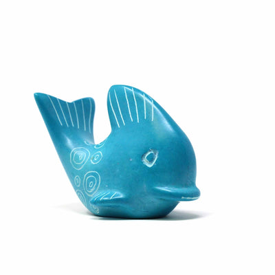 Soapstone Whales - Medium 2.5 - 3 inches