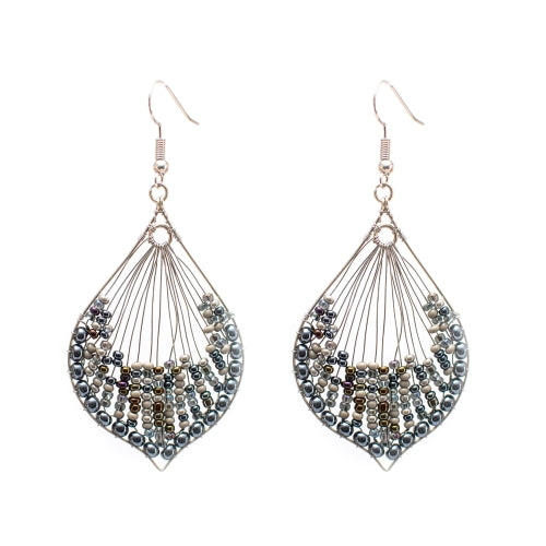 Cleo Earrings - Granite
