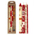 Christmas Hand-Painted Dinner Candles, Set of 3 (Kimeta Design)