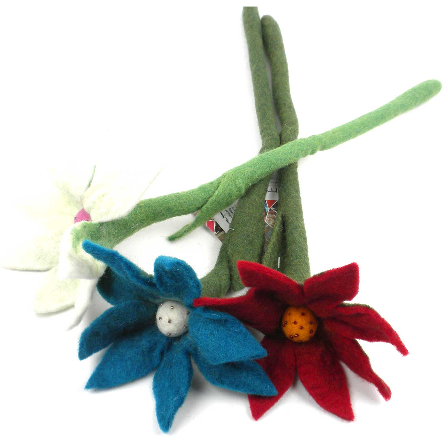 Felt Flowers - Lilies - Sold Individually