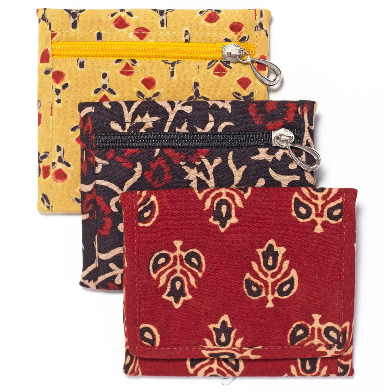 Assorted Cloth Wallet - Sold Individually
