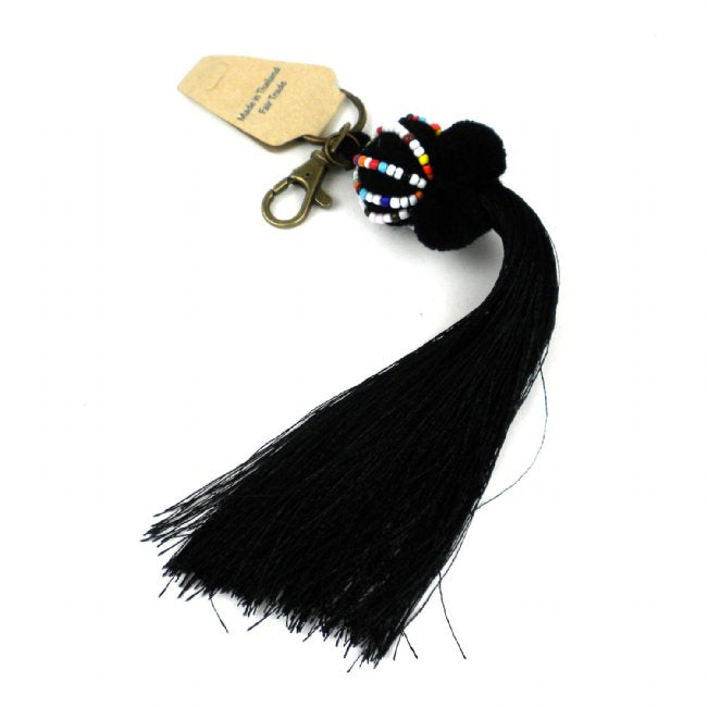 Boho Keychain Collection Lisu, Black