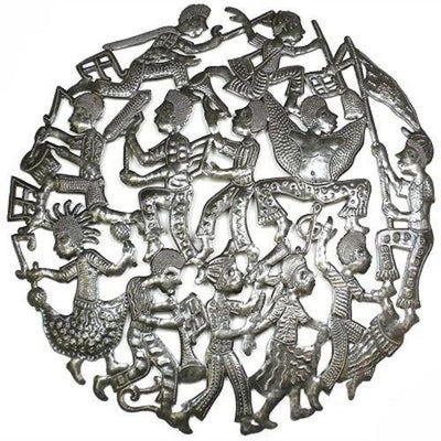 24 Inch Rara Band Metal Art
