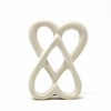 Double Heart Soapstone Sculpture, 4-inch