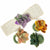 Assorted Succulent Napkin Rings, Set of 4